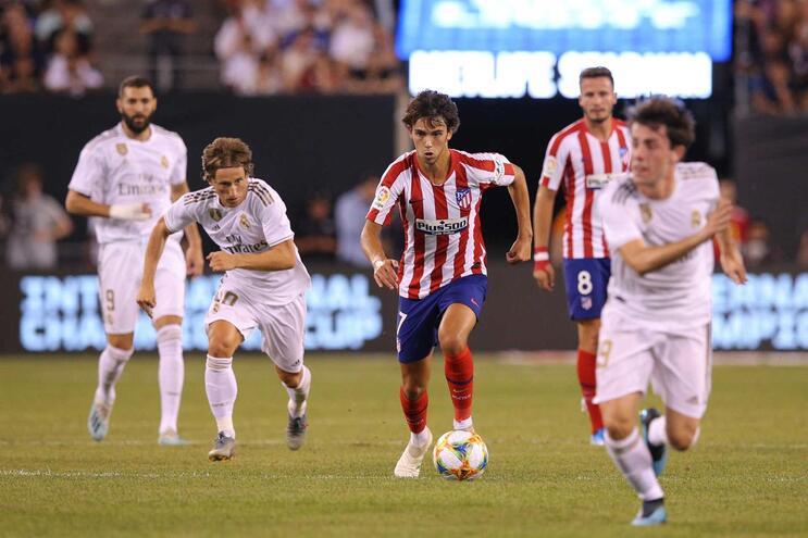João Félix brilhou no dérbi contra o Real Madrid