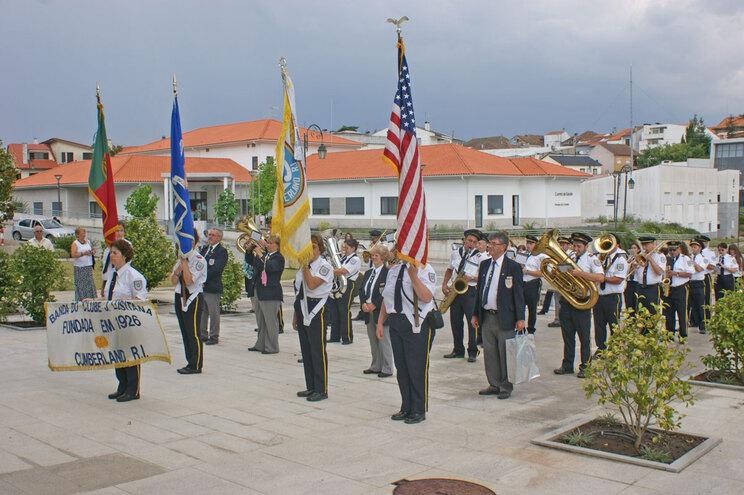 Banda portuguesa dos Estados Unidos dá concerto em Sátão