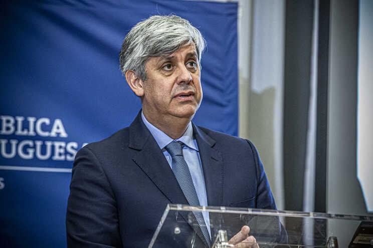 O ministro cessante das Finanças, Mário Centeno