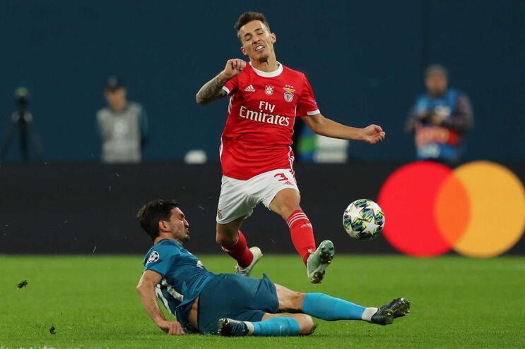O Benfica só volta a competir a 18 de outubro