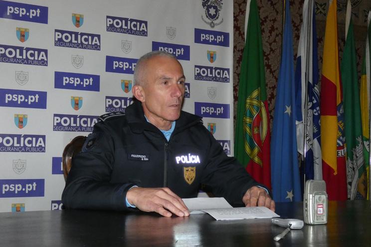 O comissário João Figueiredo, da PSP de Braga