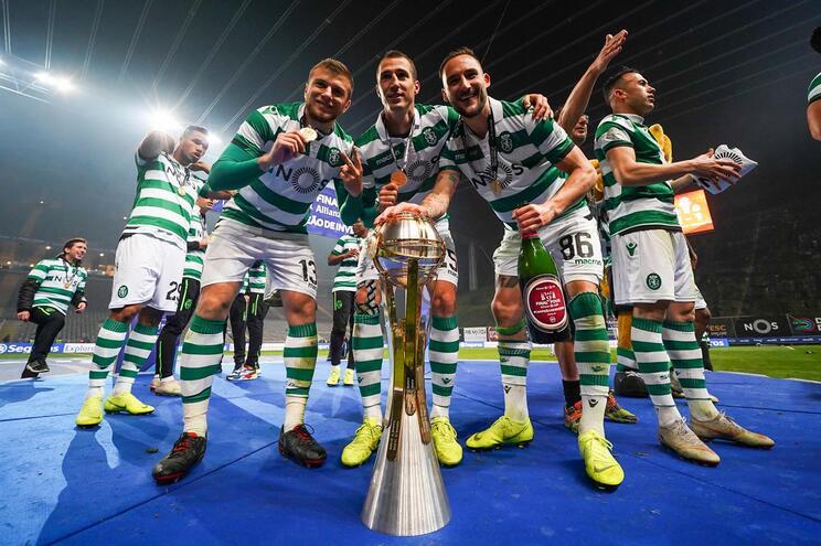 Sporting foi o vencedor do ano passado