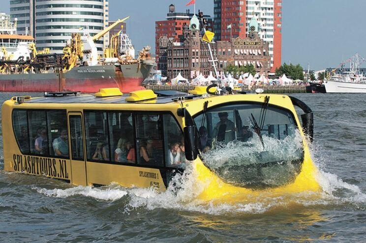 Ideia do transporte fluvial foi implementada originalmente nos Países Baixos