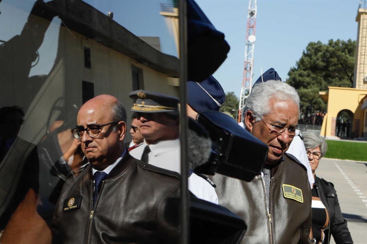Azeredo Lopes e António Costa em Monte Real