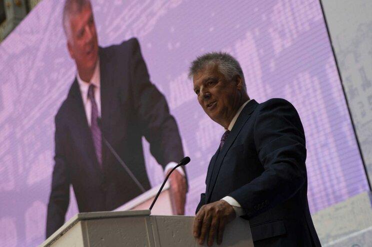 O presidente da República, Marcelo Rebelo de Sousa, recebeu uma delegação da Global Media Group composta