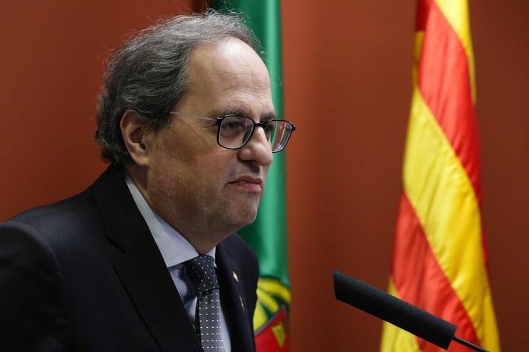 Presidente do Governo da Catalunha está em Portugal