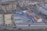 Imagens aéreas da destruição causada pelo furacão Leslie