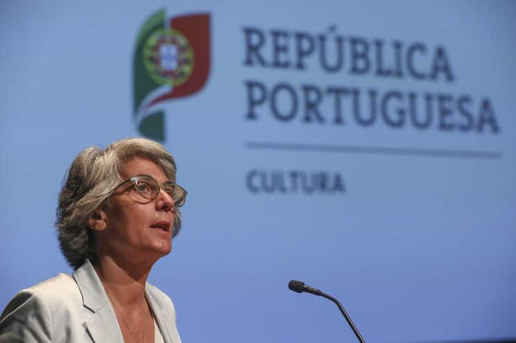 Ministra da Cultura Graça Fonseca