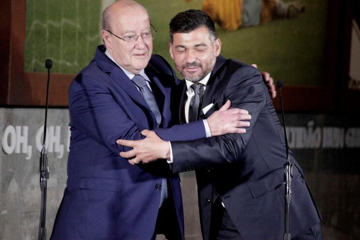 Pinto da Costa e Sérgio Conceição