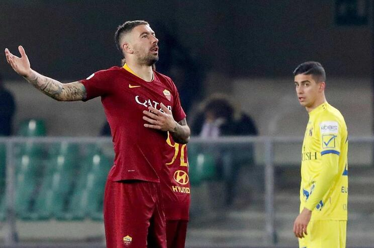 Roma vence Chievo antes de receber F. C. Porto