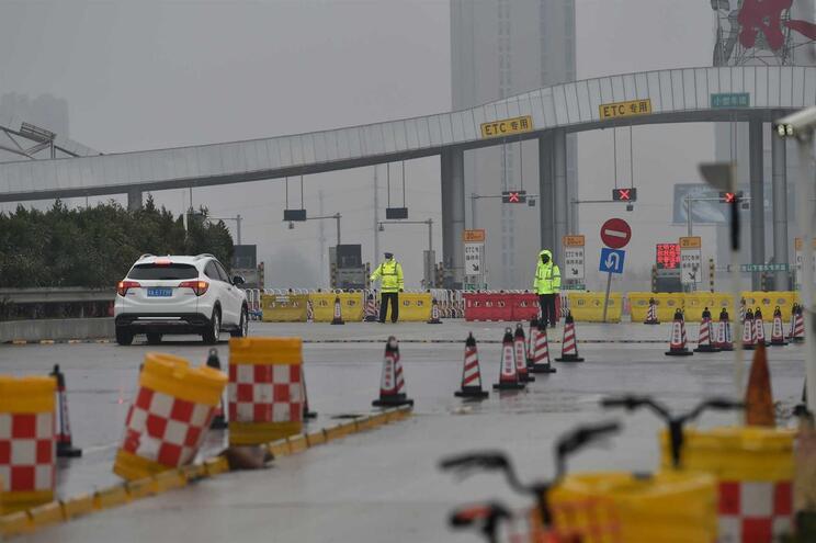 """Foram identificados 20 portugueses em Wuhan, cidade que está """"fechada"""""""