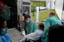 Idosos tiveram alta do Hospital Militar do Porto, na segunda-feira ao fim da tarde