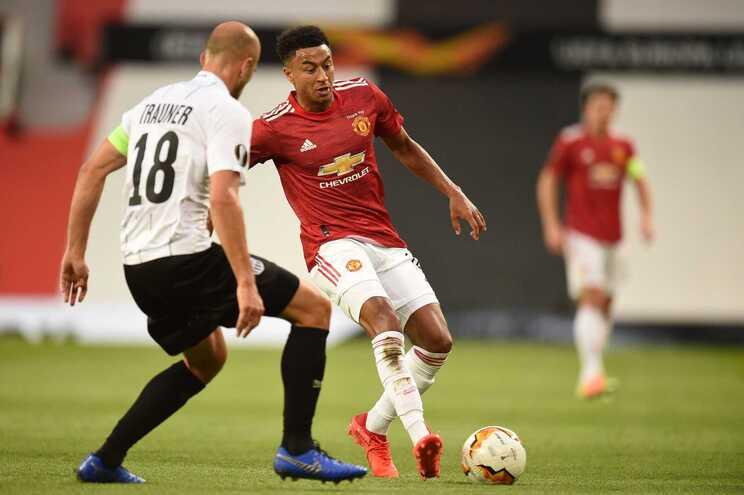 Lingard marcou para o Manchester United