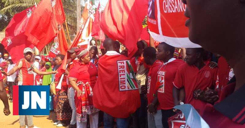 Dezasseis mortos à saída de comício em Moçambique