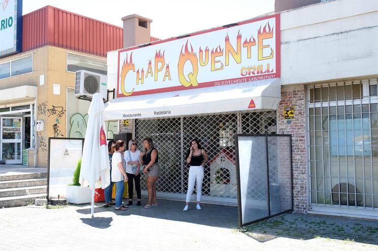 Crime ocorreu no restaurante Chapa Quente em Setúbal  ( A-Gosto.com / Global Imagens )