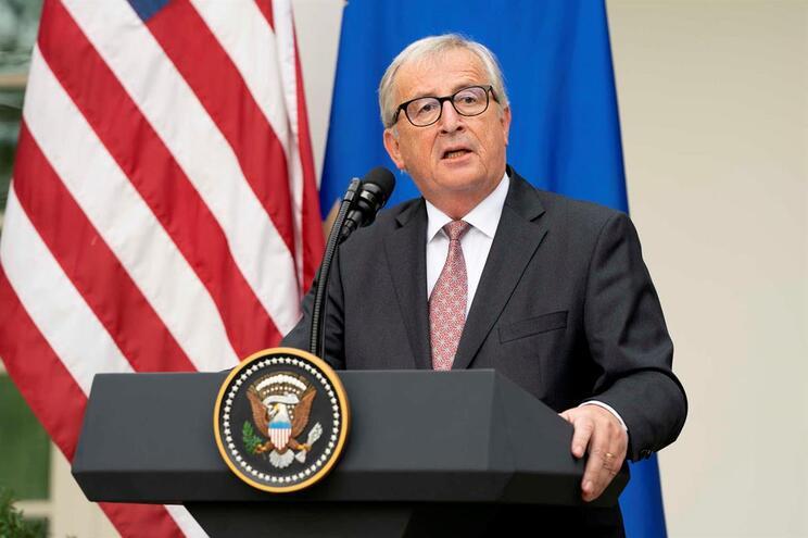 Jean-Claude Juncker reuniu com Donald Trump na Casa Branca
