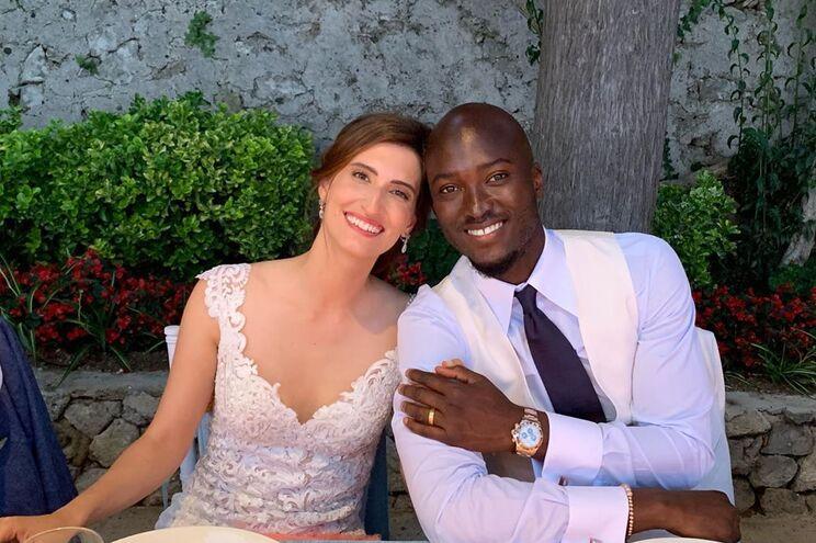 Jessica Widenby e Danilo Pereira