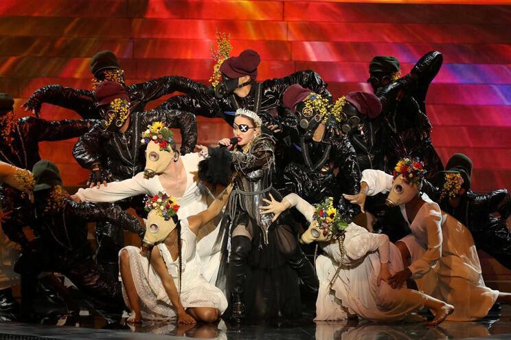 """""""Acordem"""", pediu Madonna a Israel e Palestina"""