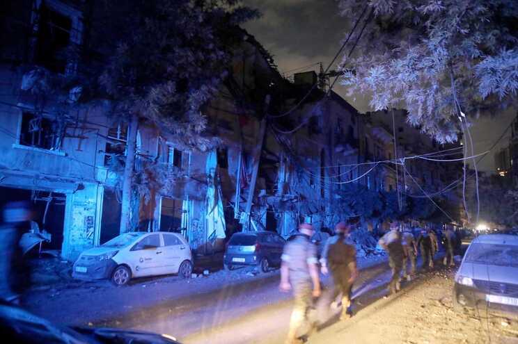 Explosão provocou milhares de vítimas