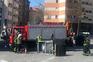 Carrinha deixa tombar cisterna de azoto líquido no Porto