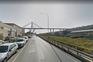O antes e depois da ponte que caiu em Itália