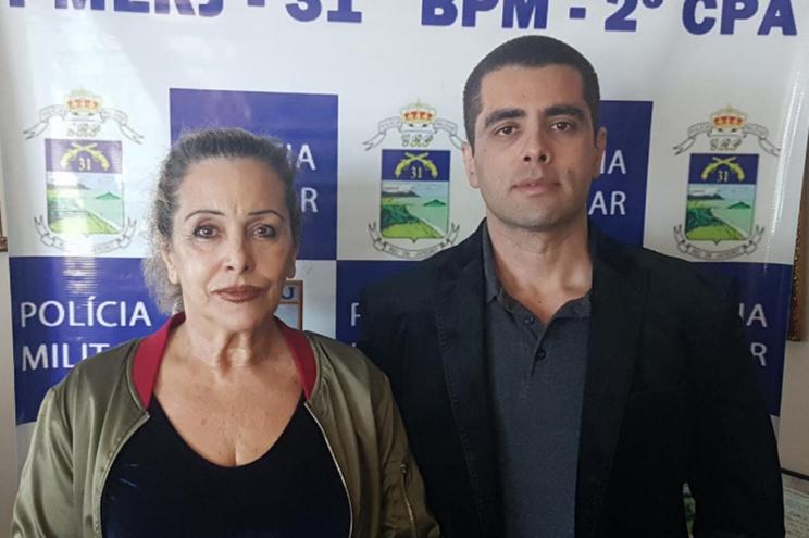 """Maria Furtado e Denis Furtado (""""Doutor Bumbum"""")"""