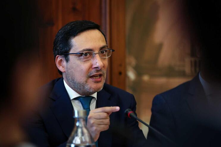 Secretário de Estado dos Assuntos Fiscais, António Mendonça Mendes