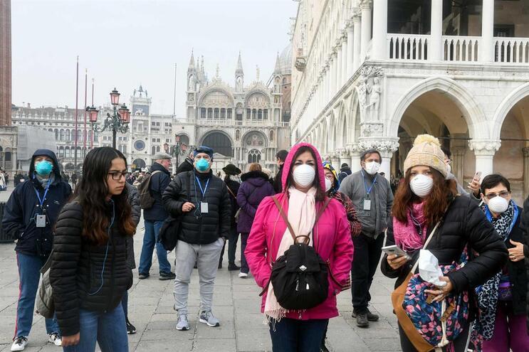 Itália é um dos países europeus mais fustigados pelo covid-19