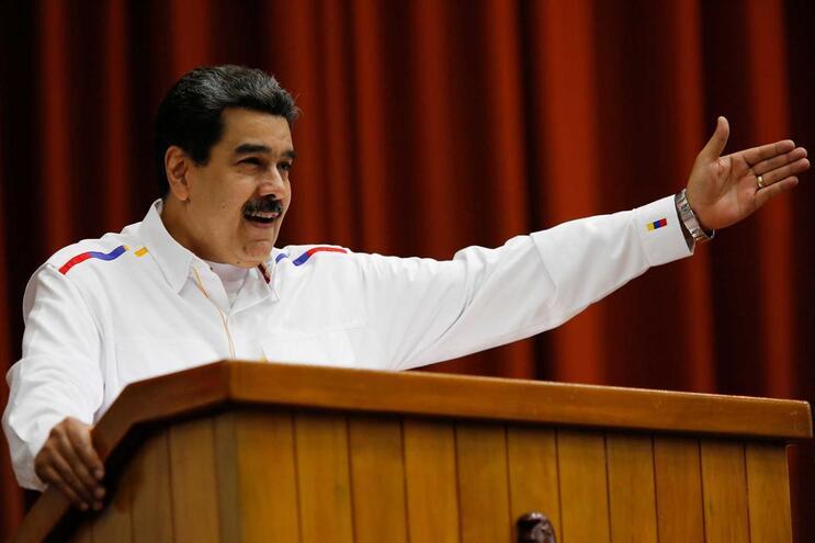 """Nicolás Maduro saúda """"libertação do irmão Lula"""""""