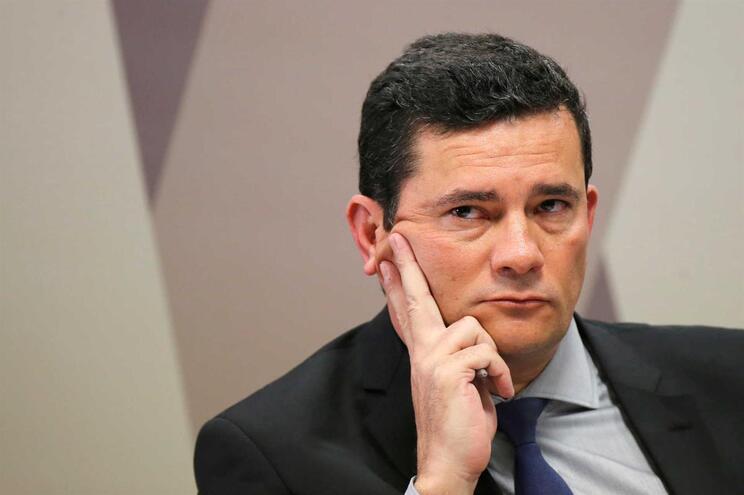 O ministro da Justiça do Brasil, Sérgio Moro