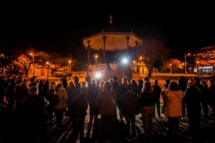 Vigília em Valpaços contra a violência