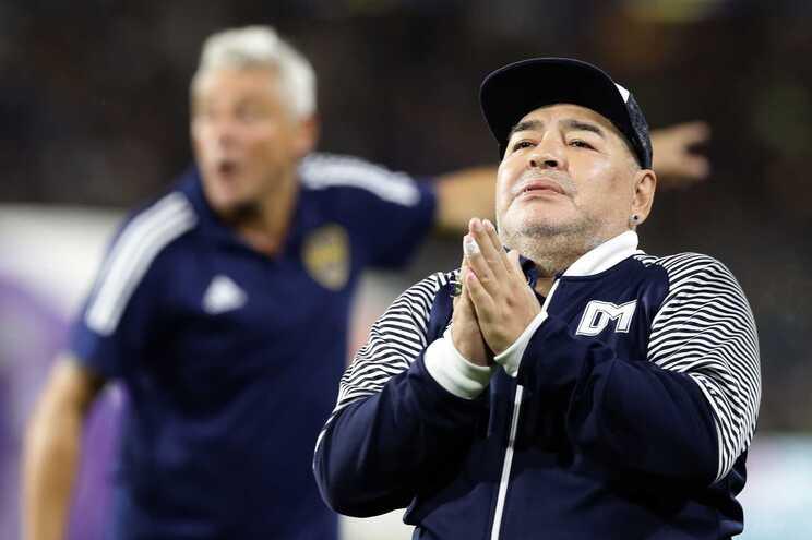 Maradona faleceu esta quarta-feira aos 60 anos, vítima de paragem cardiorrespiratória