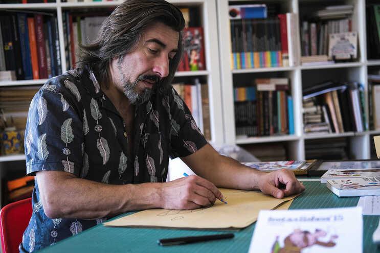 Ilustrador Nuno Saraiva