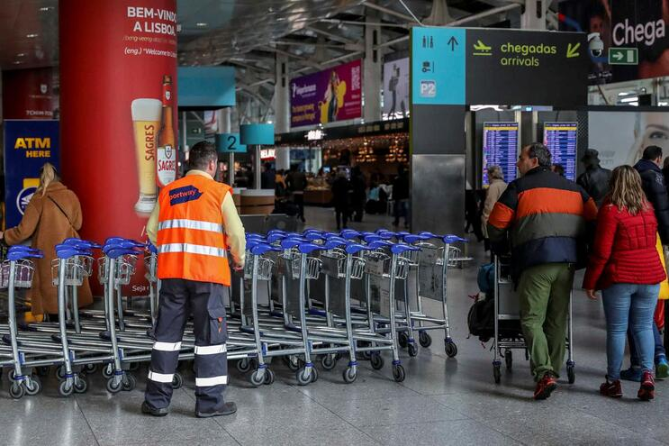 """Greve da Portway com impacto """"reduzido"""" em Lisboa e residual no Porto, Faro e Funchal"""
