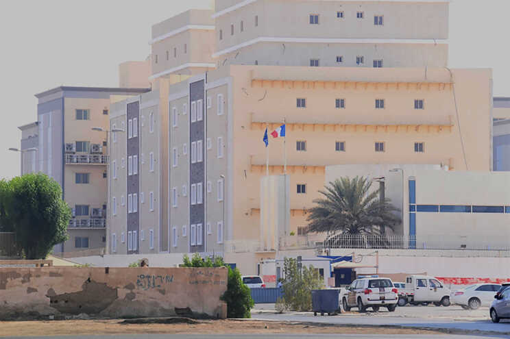 Embaixada francesa na Arábia Saudita