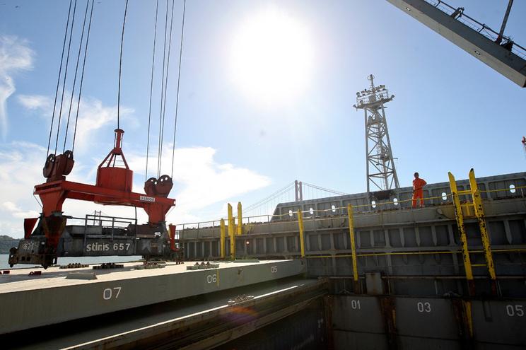 Exportações e importações a subir no primeiro trimestre