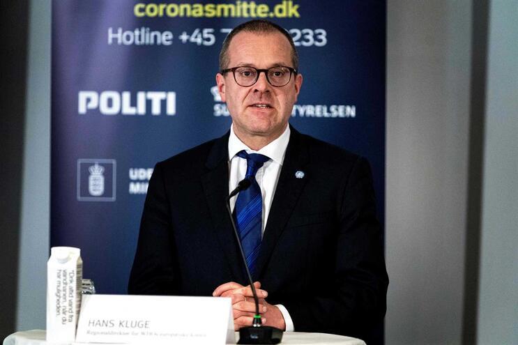 Hans Kluge, diretor da Organização Mundial da Saúde na Europa