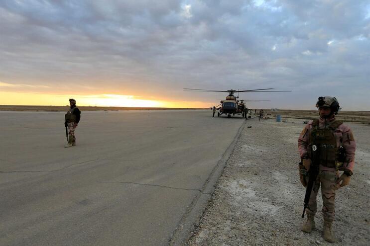 Pelo menos 25 combatentes mortos em ataques dos EUA no Iraque