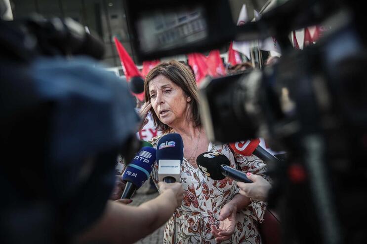 Ana Avoila, da Frente Comum