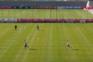 Jogadores do Bayern Munique voltam a pisar a relva no treino
