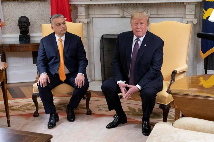Viktor Orban e Donald Trump