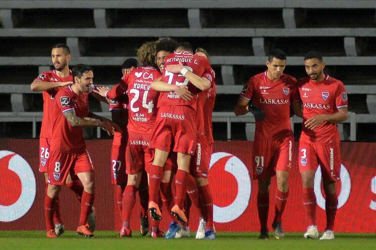 Gil Vicente faz a festa do golo no Bonfim