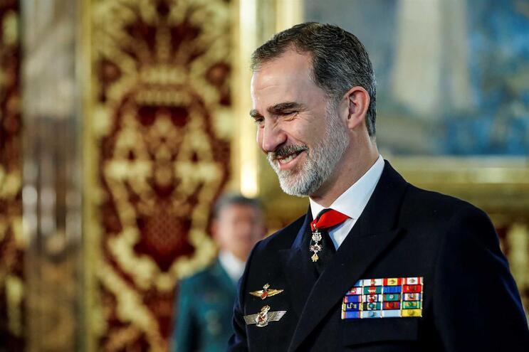 O rei de Espanha, Felipe VI