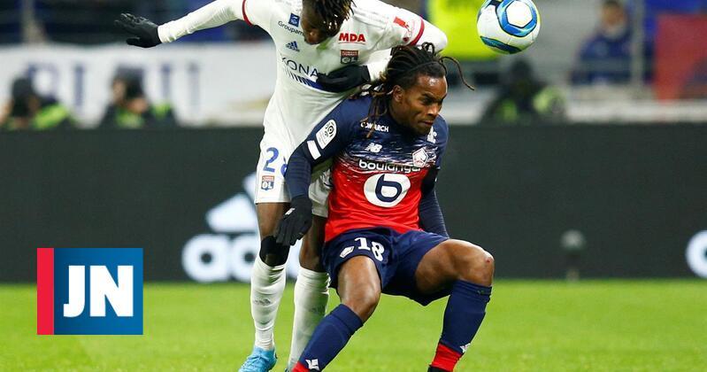 Renato Sanches em destaque marca golo da vitória do Lille