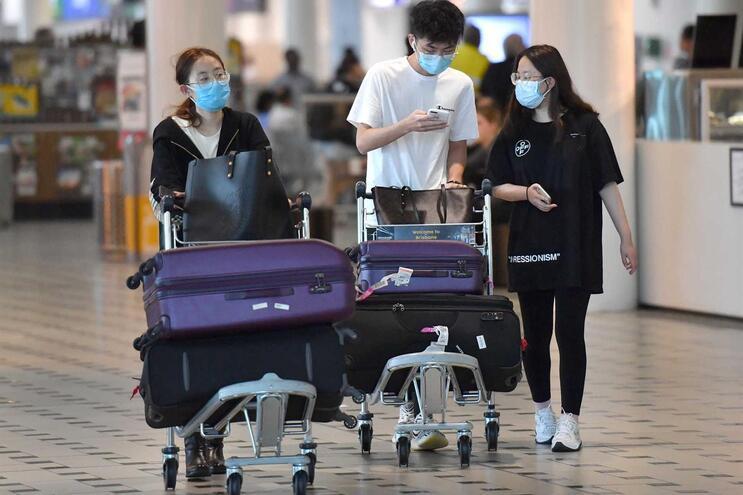 Austrália tem cinco casos confirmados de infeção