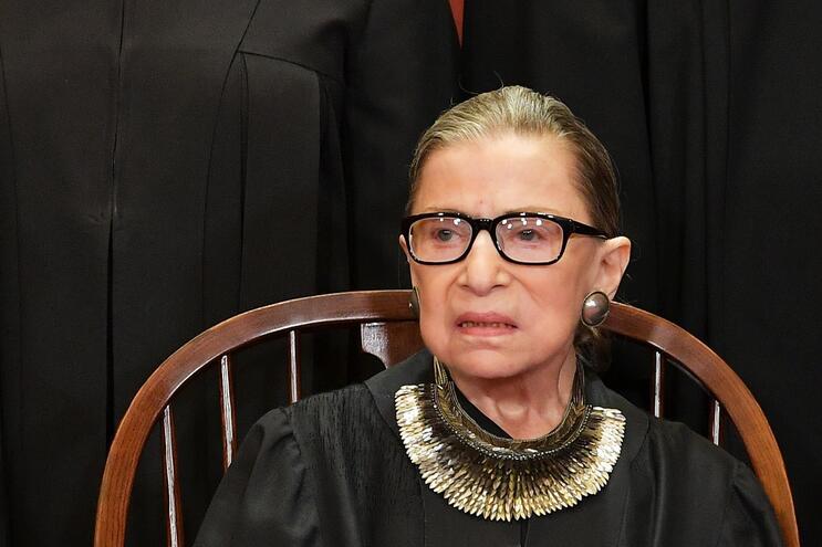 Morreu Ruth Bader Ginsburg, a juíza das minorias nos EUA
