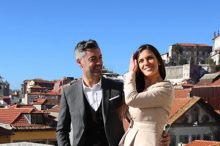Vítor Baía e a companheira, a nutricionista Andreia Santos