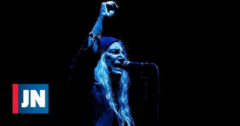 Patti Smith deu voz ao povo no Couraíso