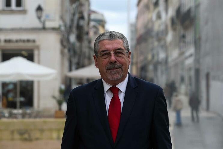 Manuel Machado, presidente da Associação Nacional de Municípios Portugueses