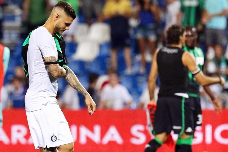 Inter Milão entra em falso e perde com o Sassuolo